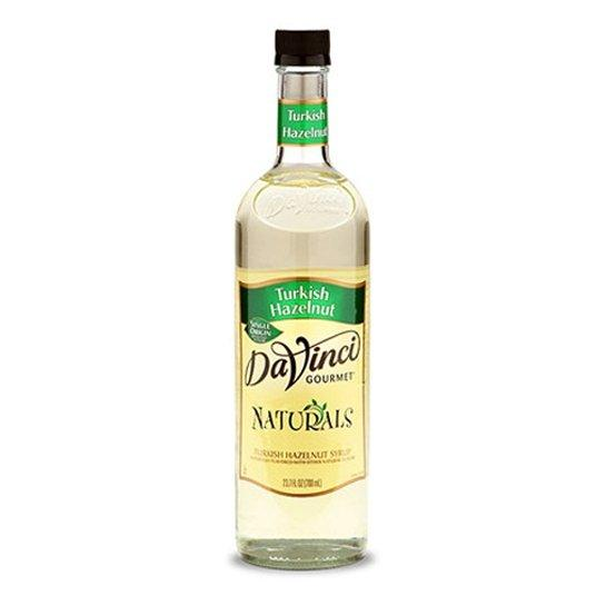 DaVinci All Natural Turkish Hazelnut Syrup 750ml
