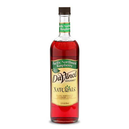 DaVinci All Natural Pacific NW Raspberry Syrup 750ml