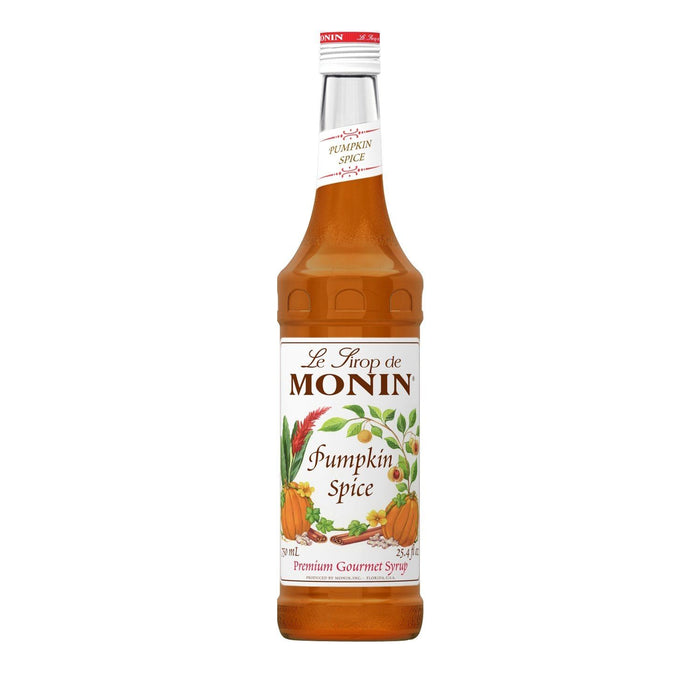 Monin Pumpkin Spice Coffee Syrup, 750 ml