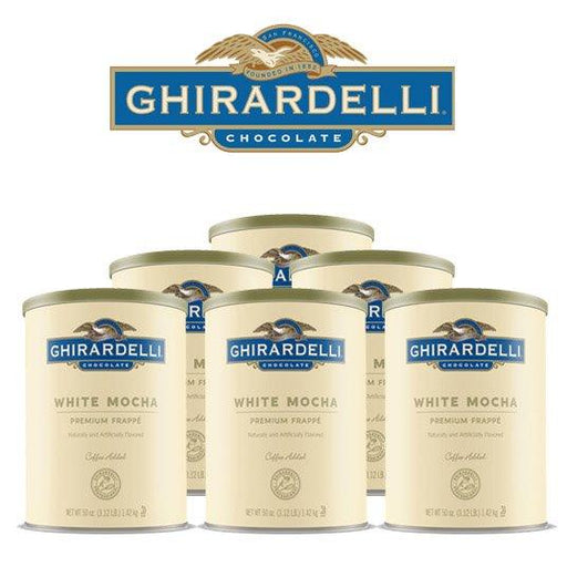 Ghirardelli White Mocha Frappé, Case of 6