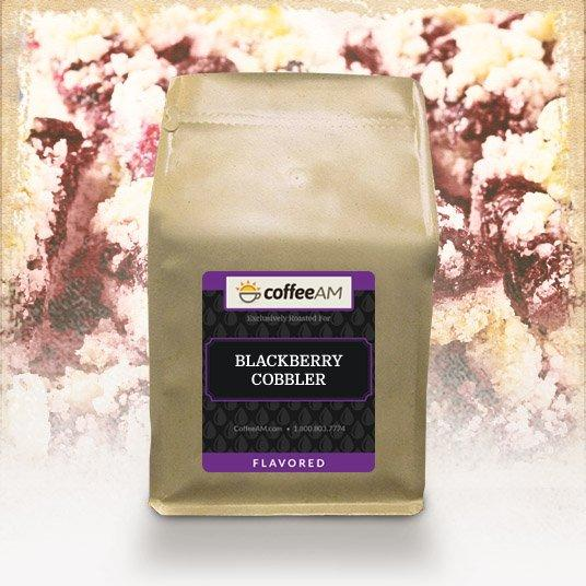 Blackberry Cobbler Flavored Coffee