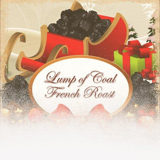 Lump of Coal French Roast Coffee (12 Coffees of Christmas Theme)
