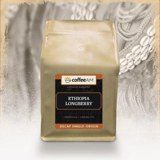 Decaf Ethiopia Longberry Coffee