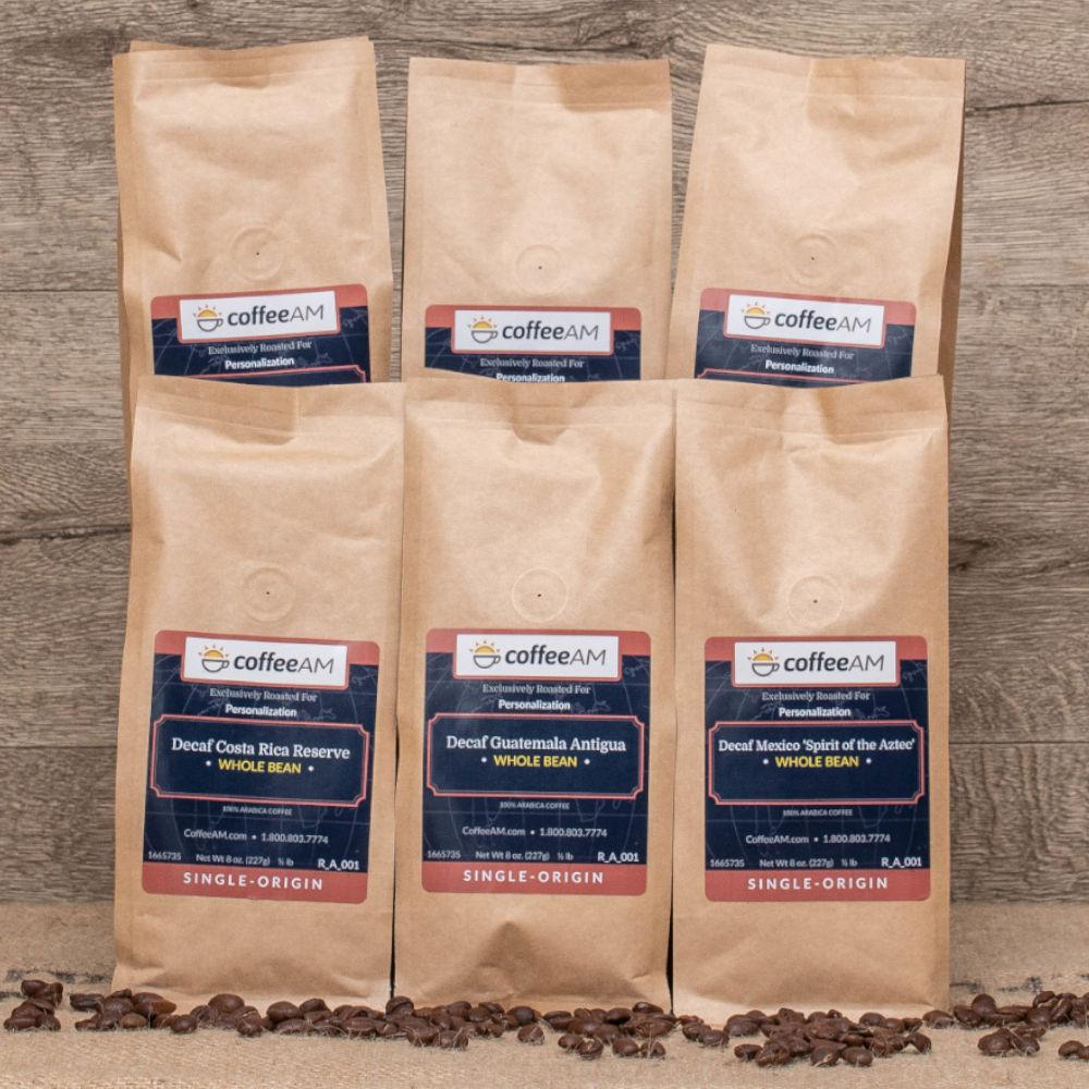 Decaf World Tour Gourmet Coffee Sampler