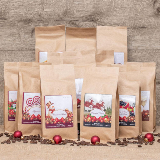 Deluxe 12 Coffees of Christmas Gift Set