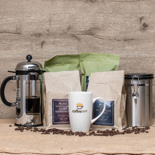 French Press Coffee & Tea Gift Set
