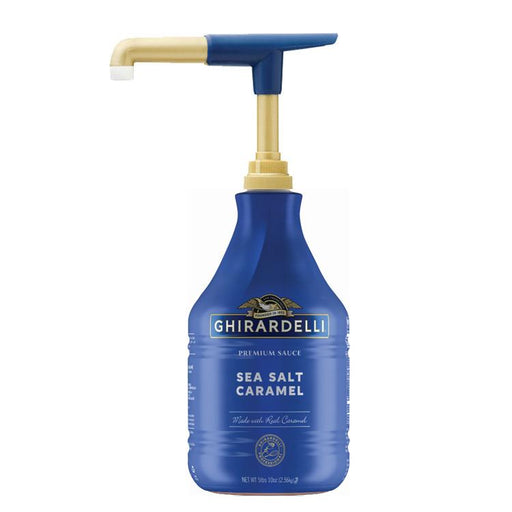 Ghirardelli Sea Salt Caramel Sauce (Pump Bottle)
