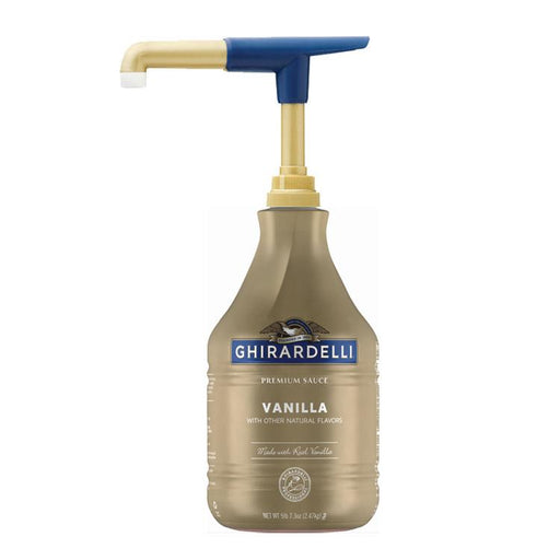 Ghirardelli Vanilla Sauce (Pump Bottle)