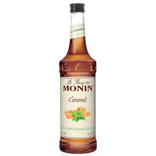 Monin Zero Calorie Natural Caramel Syrup 750 ml