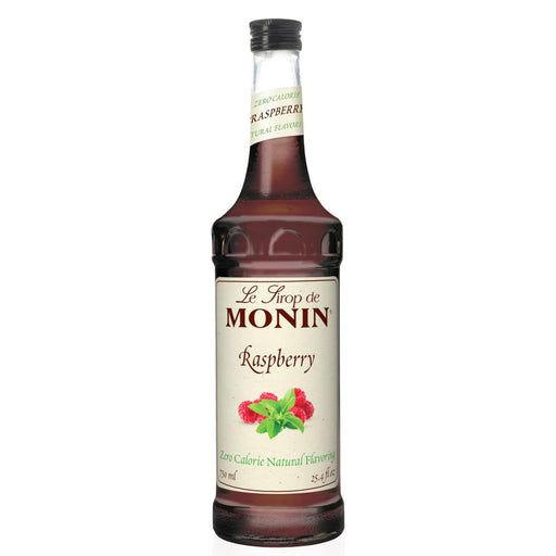 Monin Zero Calorie Natural Raspberry Syrup 750 ml