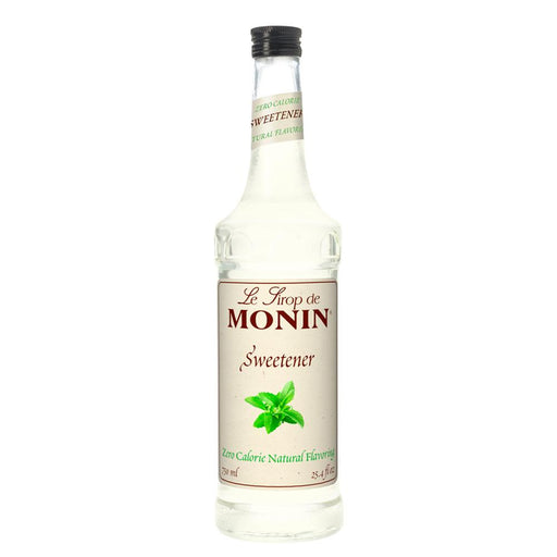 Monin Zero Calorie Natural Sweetener Syrup 750 ml