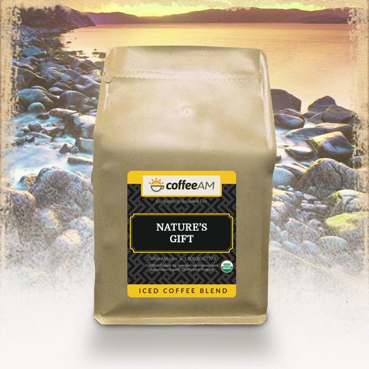 Nature's Gift, Organic Iced Coffee Blend