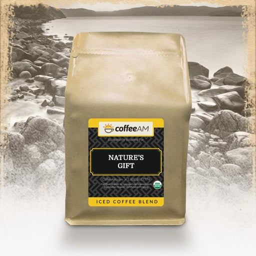 Decaf Nature's Gift, Organic Iced Coffee Blend