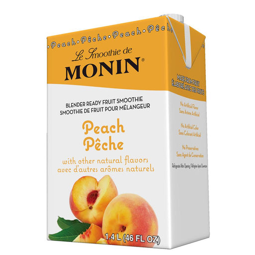 Monin Peach Fruit Smoothie Mix (46 oz)
