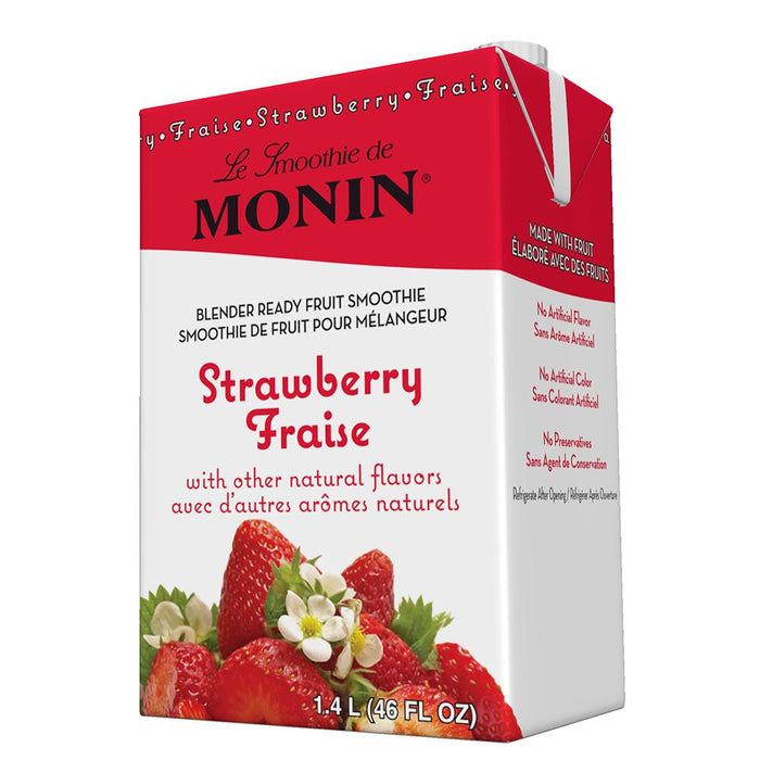 Monin Strawberry Fruit Smoothie Mix (46 oz)