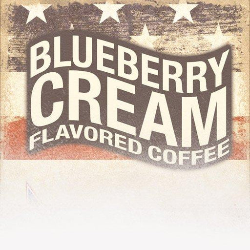 Blueberry Cream Flavored Coffee (Patriotic Theme)