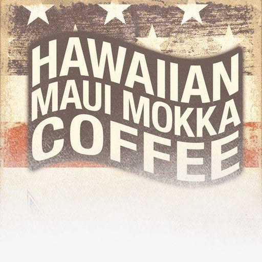 Hawaiian Maui Mokka Coffee (Patriotic Theme)