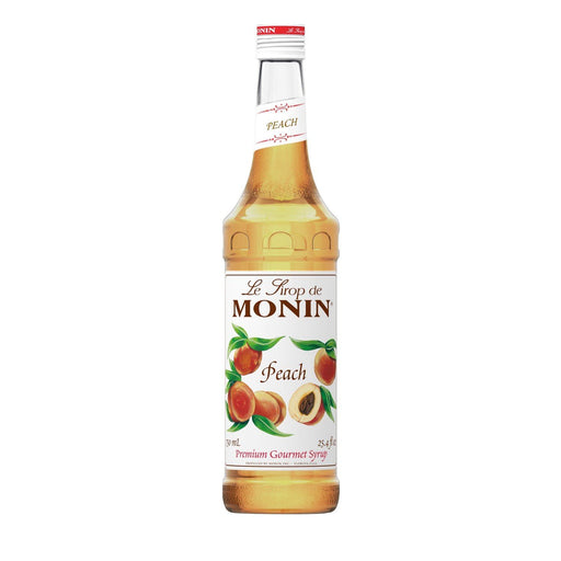 Monin Peach Coffee Syrup, 750 ml