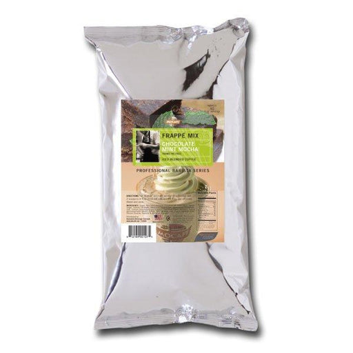 Mocafe Chocolate Mint Mocha Frappe Mix, Case  (4) 3 lb Bags