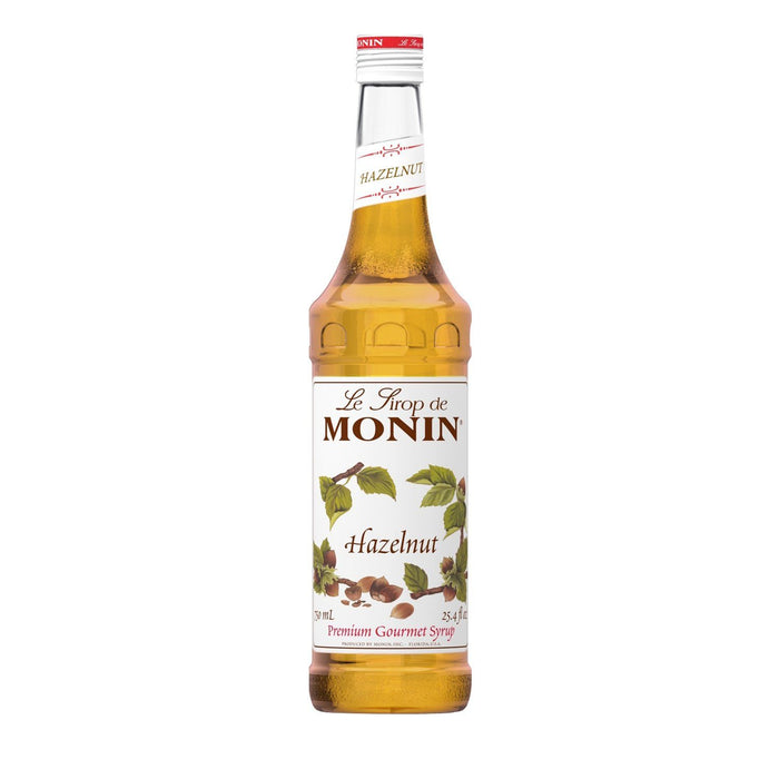Monin Hazelnut Coffee Syrup, 750 ml