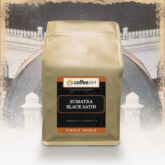 Sumatra Black Satin Coffee