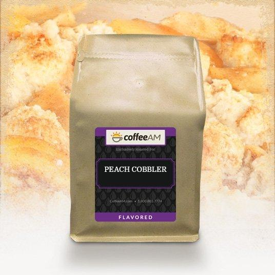 Peach Cobbler Flavored Coffee