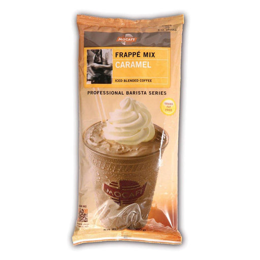 Mocafe Caramel Frappe Mix, 3 lb Bag