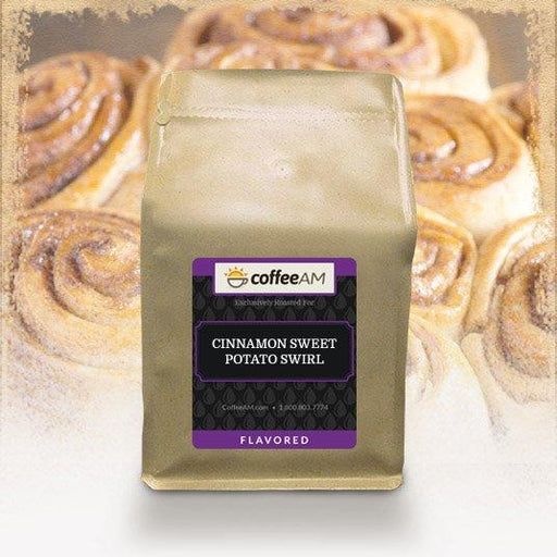 Cinnamon Sweet Potato Swirl Flavored Coffee