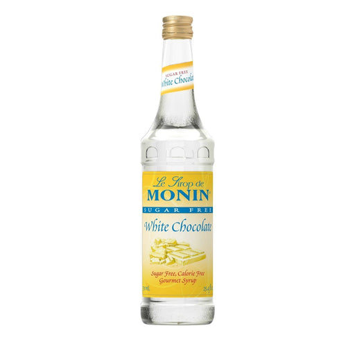 Monin Sugar-Free White Chocolate Coffee Syrup, 750 ml