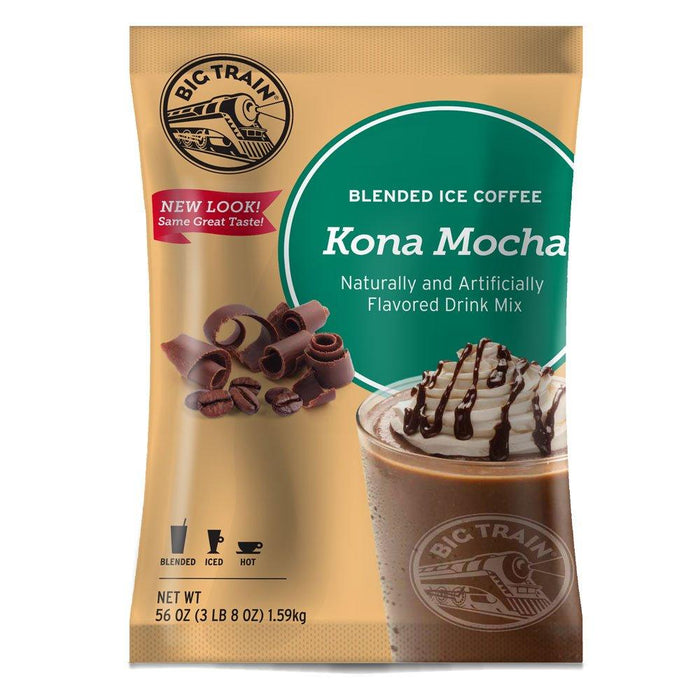Big Train Kona Mocha Blended Iced Coffee (3lb Bag)