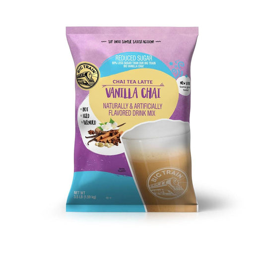 Big Train Reduced Sugar Vanilla Chai (3 lb Bag)