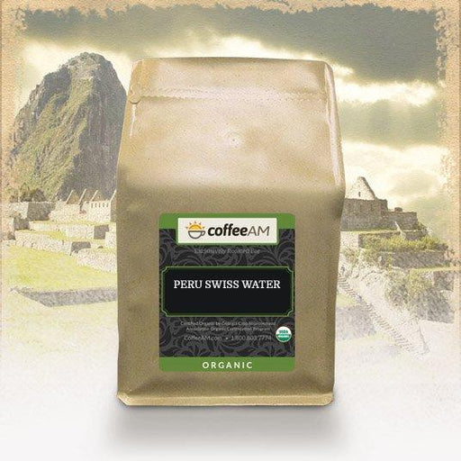 Organic Decaf 'Swiss Water' Peru Coffee