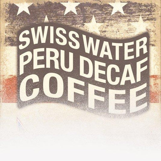 Organic Decaf 'Swiss Water' Peru Coffee (Patriotic Theme)