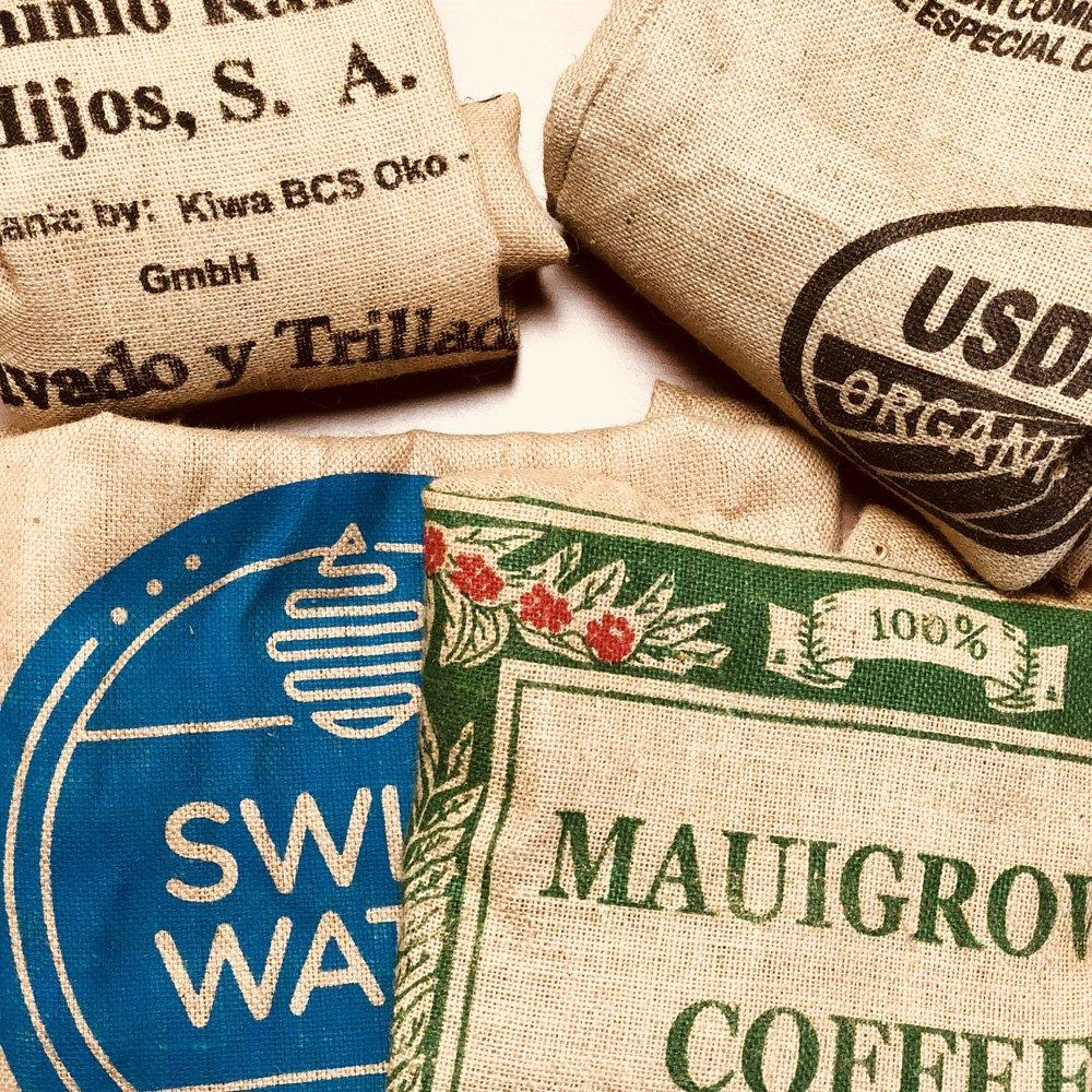 Authentic (Burlap or Burlap Similar) Coffee Bag