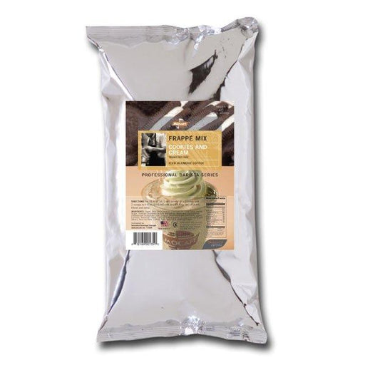 Mocafe Cookies and Cream Frappe Mix, Case (4) 3lb Bags