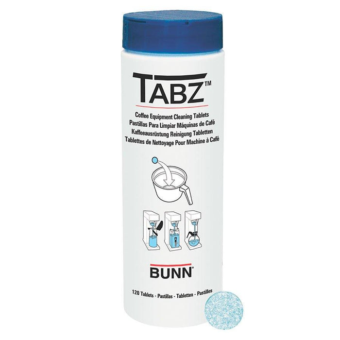 BUNN CLEANER, BREWER TABZ