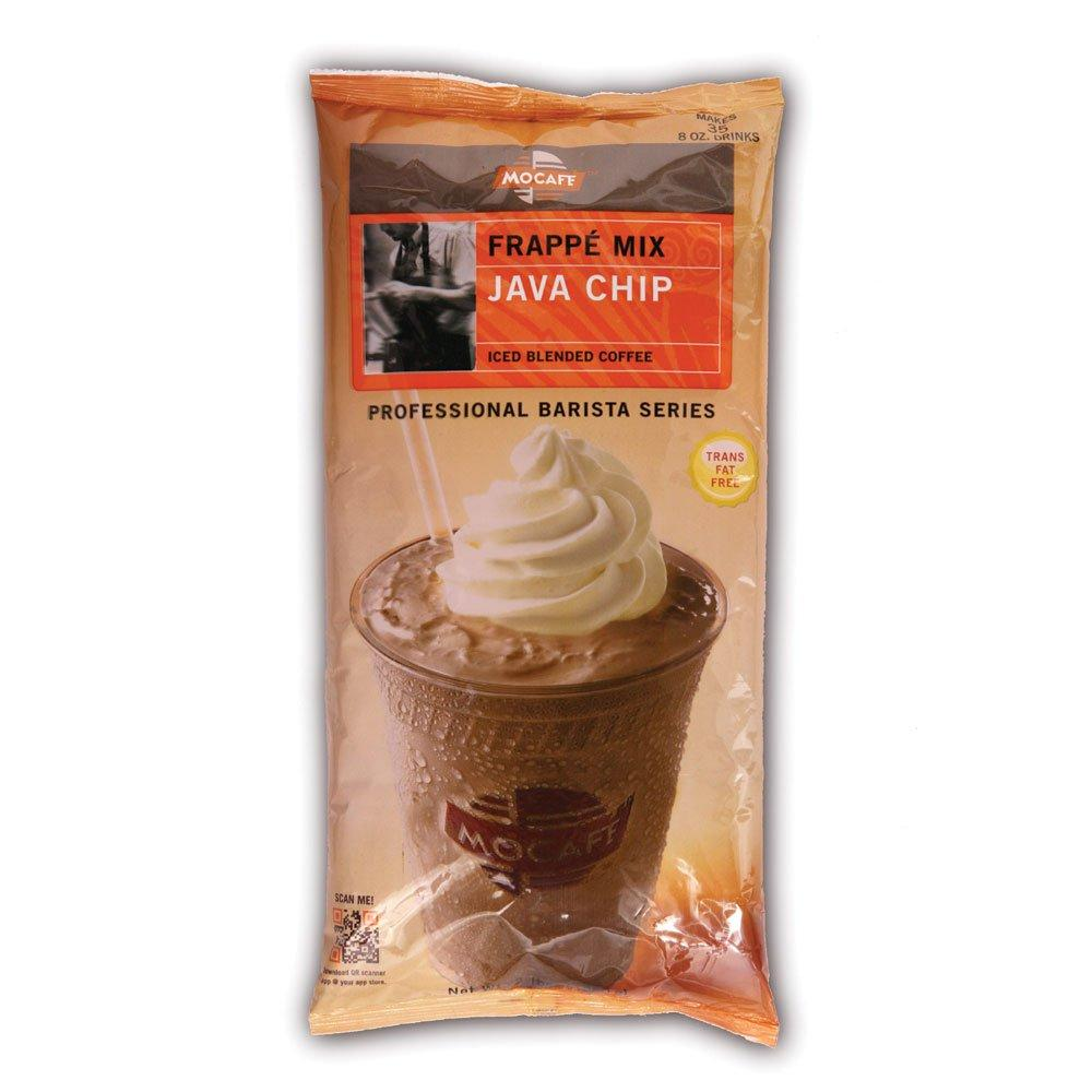 Mocafe Java Chip Frappe Mix, Case (4) 3 lb Bags