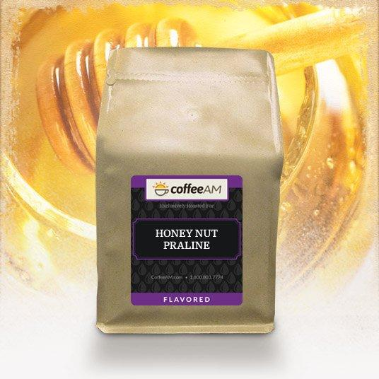 Honey Nut Praline Flavored Coffee