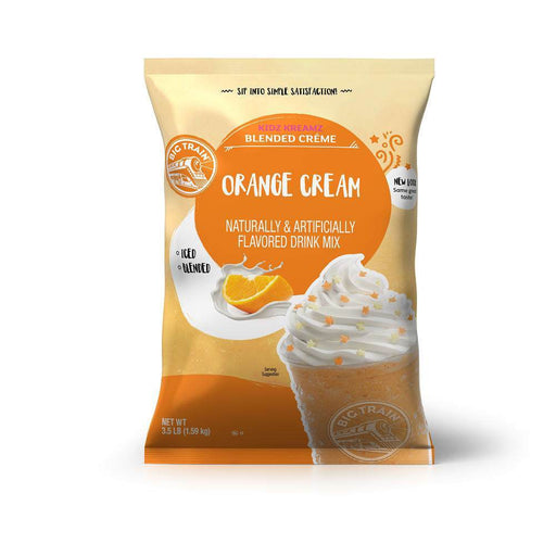 Big Train Orange Cream Kidz Kreamz Frappe Mix (3.5lb Bag)