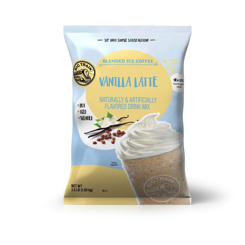 Big Train Vanilla Latte Blended Iced Coffee (3lb Bag)