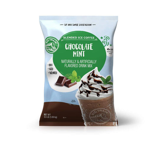 Big Train Chocolate Mint Blended Iced Coffee (3.5lb Bag)