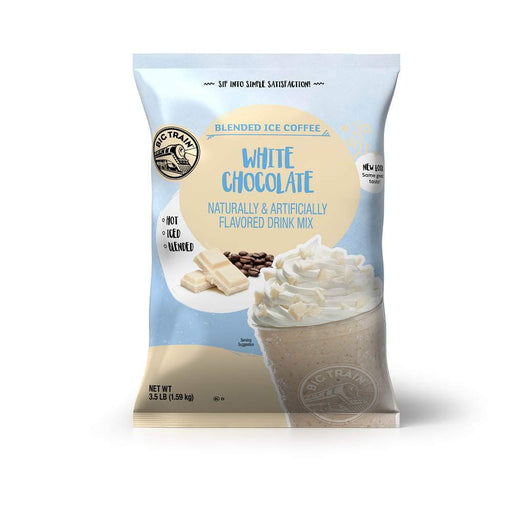 Big Train White Chocolate Latte Blended Iced Coffee (3lb Bag)