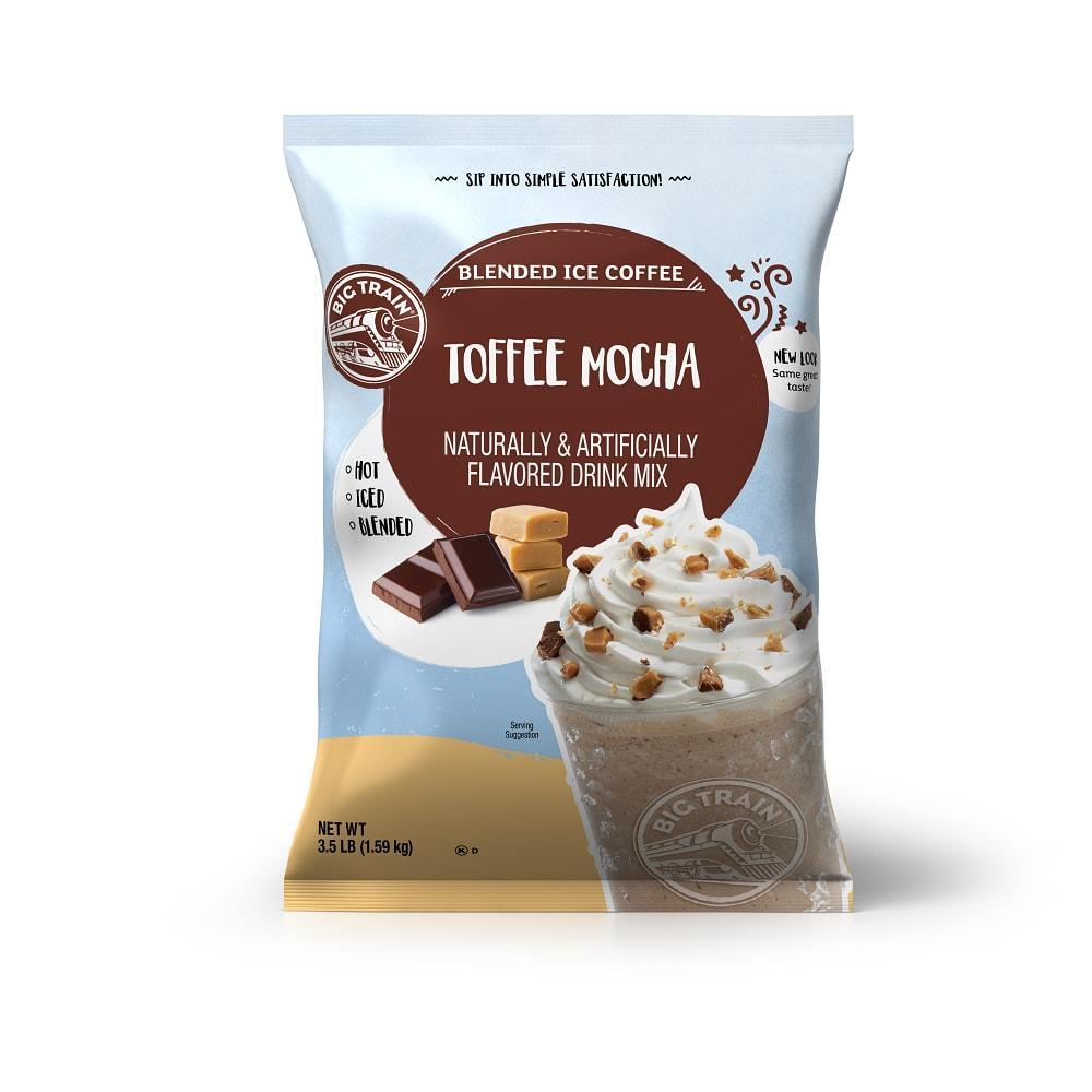 Big Train Toffee Mocha Blended Ice Coffee (3lb Bag)