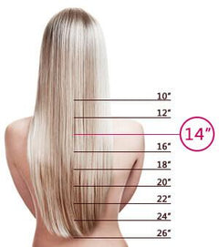 14 Inch Tape-In Hair Extensions