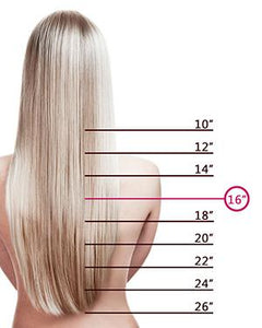 16 Inch Clip In Hair Extensions