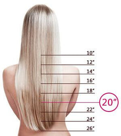 20 Inch Tape-In Hair Extensions