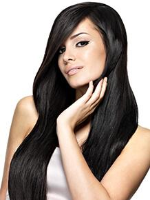 Black Human Hair Weft / Weave Extensions
