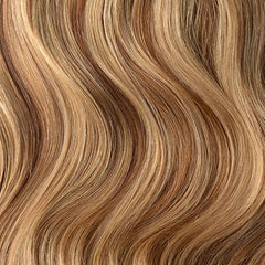 Brown/Ginger Blonde Mix Hair Extensions (#6/27)