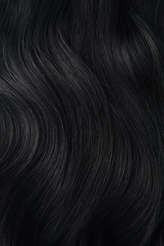 Black Micro Ring Hair Extensions