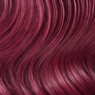 Plum/Cherry Red Hair Extensions (#530)